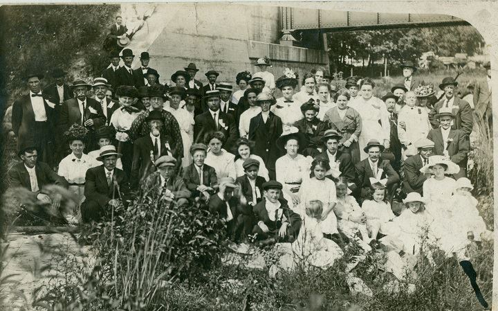 First Minerd reunion 100 years ago